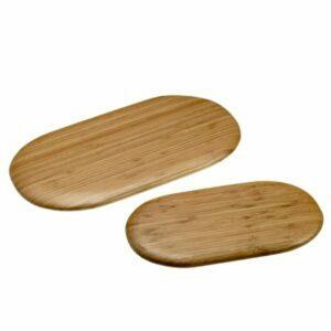 Ovalios bambukinės serviravimo lentelės S0093
