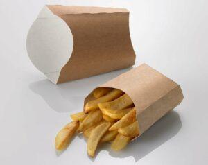 Popieriniai indeliai bulvytėms H0705