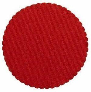 Stalo padėkliukai raudonos spalvos H8013.M2