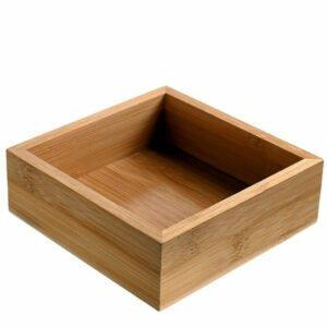 Bambukinės dėžutės S4003